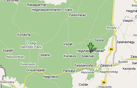Közeli térkép